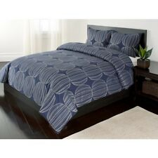 3pc Full/ Queen Duvet Cover Set- Harrison 100% Cotton
