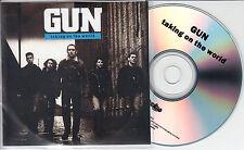GUN Taking On The World Sampler 2014 UK 5-trk promo test CD