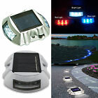 Outdoor Waterproof LED SOLAR Power Path Deck Stud Garden Road Dock Yard Lights