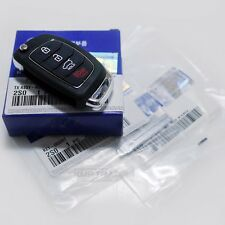 OEM Keyless Entry Fob Folding Key Remote Control Blank For HYUNDAI 2017 Elantra