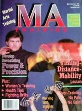 1988 MA TRAINING MAGAZINE MIKE STONE KARATE KUNG FU MARTIAL ARTS