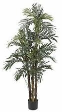 Fake Palm Tree 5 ft Nearly Natural Artificial Green Tropical Silk Plant Decor