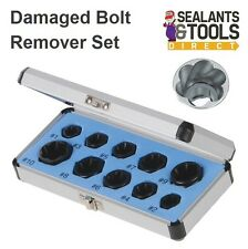 Damaged Rounded Bolt Nut Remover 10pc Extractor Socket Set 467893 Stud Screw