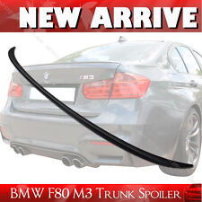 Painted M3-Type ABS Rear Trunk Lip Spoiler for BMW F30 / F80 M3 Model