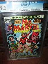 Ms Marvel #18 CGC 9.2 1st Full Appearance of Mystique from the X-men Movies