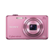 Sony Cyber-shot DSC-WX220 18.2 Megapixels Digital Camera - Pink