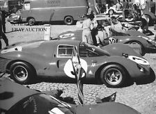 Ferrari 330 P3 paddock pits photo 24 Hours of Le Mans 1966 - photograph