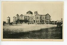 SMR Station & Yamato Hotel MUKDEN 沈阳 Shenyang Manchuria CHINESE Train Depot~1910