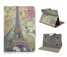 Universal cover, funda, estuche, f. 7 pulgadas TABLET eBOOK funda protectora bolso parís Tower
