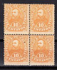 Colombia Scott 131 Mint NH block
