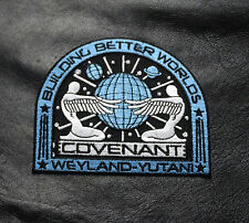 Alien Movie Prometheus Covenant Weyland Corp Crew Uniform Cosplay Patch