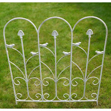 French Country Decorative Lawn Garden Climbing Plant Trellis White Shabby Chic