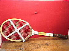 Jolie ancienne raquette tennis, courts, finest Bamboo frame, Super Speed, Japan