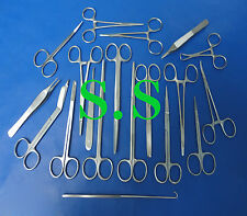Set Of 19 Pieces Minor Surgery Surgical Instruments