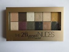 Maybelline 24 Karat nudi Eye Shadow Palette
