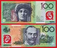 AUSTRALIA 100 Dollars dolares 2008 PICK 61a Polymer  SC  /  UNC