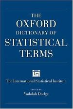 The Oxford Dictionary of Statistical Terms-ExLibrary