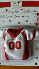 The elf on the shelf claus couture collection Elf game day jersey