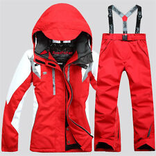 Women's Winter Coat Pants Jacket Waterproof Ski Suit Snowboard Clothing Snowsuit