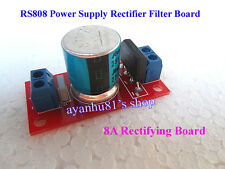AC 12V 18V 8A RS808 Power Supply Rectifier Filter Board For Amplifier AMP Board