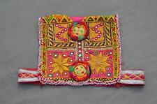 Kuchi Afghan Tribal Choli Vintage Belly Dance Handmade Stitchable Crop Top KC311