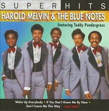 Super Hits Harold Melvin & the Blue Notes MUSIC CD