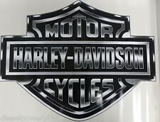 2 harley davidson motorcycle Trailer Huge big decal sticker HD cycle bike sign
