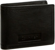 Portafoglio Uomo Marrone Calvin Klein Wallet Men Brown  Stone 5CC + Coin Pocket