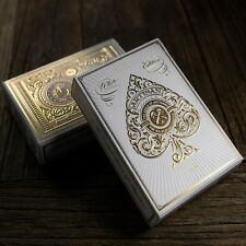 1 Deck of Theory11 Artisan White Playing Cards (White) Edition Poker Deck by T11