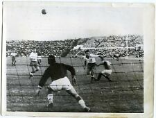 PHOTO match de foot FRANCE / ISRAEL Tel Aviv Ramatgan 1957 United Press