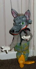 VINTAGE PELHAM PUPPETS ANIMAL RANGE WOLF HAND MADE PUPPET BOXED