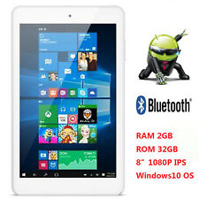 "8.0"" Cube iWork8 Ultimate Quad Core Tablet PC Bluetooth IPS Windows10 OTG HDMI"