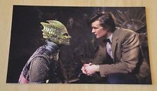 DOCTOR WHO POSTCARD 'THE DOCTOR & ALAYA IN THE UNDERGROUND CITY OF SILURIANS'