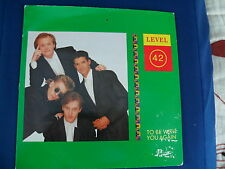 Level 42 - To Be With You Again / Micro Kid (live) - Polydor POSP 855