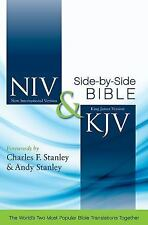 Niv and Kjv Side by Side Bible by Zondervan Staff (2011, Hardcover, Special)