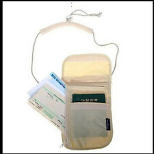 for Travel Security Neck Wallet Bag Passport Card Organizer Holder Money Pouch