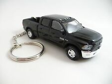 2016 Dodge RAM 2500 Hemi 4X4 Truck Pickup Black with Hitch Keychain Key Chain