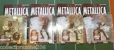 WORLDWIDE SHIPPING METALLICA HARVESTERS OF SORROW MCFARLANE TOYS SET OF 4