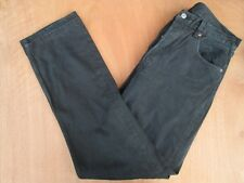 "MEN`S LEVI`S 501 BLACK JEANS W33"" - L34"" RED TAB STRAIGHT LEG MADE IN USA"
