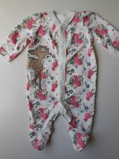 DISNEY 'BAMBI' MOTHERCARE COVERALL ALL IN ONE SIZE 0000 NEWBORN
