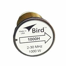 New Bird 1000H Plug-in Element 0 to 1000 watts 2-30 MHz for Bird 43 Wattmeters