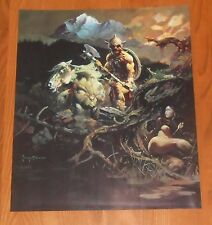 Frank Frazetta Night Winds 1978 Vintage Original Poster Print 16x19