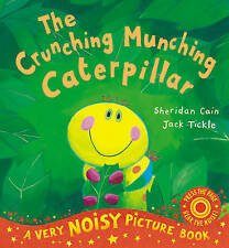 The Crunching Munching Caterpillar Picture book with sounds - New paperback Book