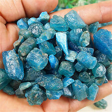80.6g Natural Rough Blue Apatite Gem Specimen Madagascar LHS D