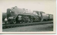 D705 RP 1930/40s CPR CANADIAN PACIFIC RAILROAD TRAIN ROYAL HUDSON ENGINE #2811