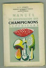 Manuel de determination des champignons supérieurs voir sommaire livre