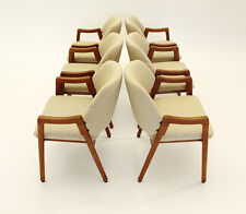 Set di 6 poltroncine modello no 814 Ico Parisi per Cassina ,armchairs 60s, sedie