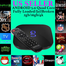Matricom GBOX G-Box Q2 Quad/Octo Core Kodi 16 Android TV 2G/16G 4K Fully Loaded