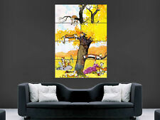 CALVIN AND HOBBES KIDS POSTER WALL ART PICTURE PRINT LARGE  HUGE COMIC BOOK