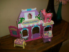 My Little Pony Cotton Candy Cafe with Cotton Candy POny and accessories.